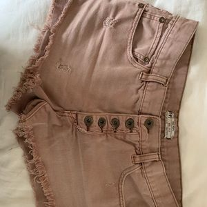 Free People Cut off shorts